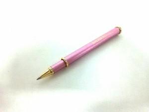 ミキモト ボールペン 新品同様 ピンク×シルバー ボールペン&ブックマーカーセット/インクあり(黒) 金属素材×パール【中古】