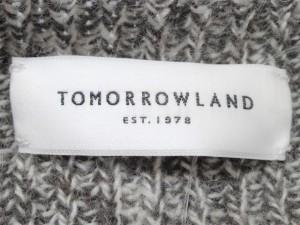 トゥモローランド TOMORROWLAND 長袖セーター サイズS レディース 美品 グレー×白【中古】