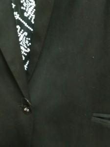 スパイラルガール SpiralGirl ジャケット サイズ1 S レディース 美品 黒 肩パッド/ロング丈【中古】