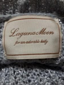 ラグナムーン LagunaMoon 長袖セーター レディース ライトブルー ラメ【中古】