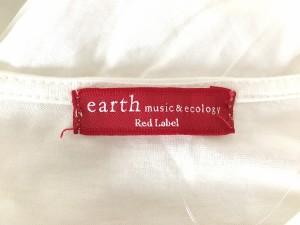 アースミュージック&エコロジー earth music&ecology ワンピース レディース 美品 白 刺繍【中古】