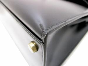 エルメス HERMES ハンドバッグ 美品 ケリー32 黒 外縫い/ゴールド金具 ボックスカーフ【中古】