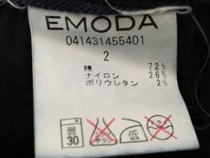 エモダ EMODA ジーンズ サイズ2 M レディース ネイビー ELDER【中古】