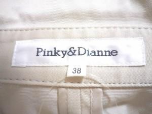ピンキー&ダイアン Pinky&Dianne ブルゾン サイズ38 M レディース グレーベージュ 春・秋物【中古】