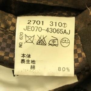 タケオキクチ TAKEOKIKUCHI ジャケット メンズ 新品同様 ダークブラウン【中古】