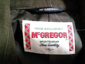 マクレガー McGREGOR ジャケット サイズL メンズ ダークブラウン【中古】