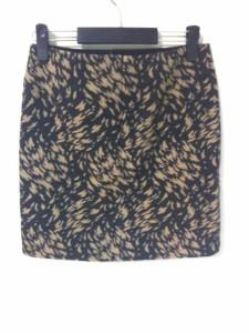 アドーア ADORE スカート サイズ38 M レディース 新品同様 ダークグレー×ベージュ【中古】