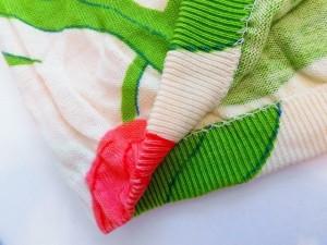 49アベニュージュンコシマダ スカートセットアップ サイズ9 M レディース アイボリー×ライトグリーン×ピンク 花柄/ニット【中古】