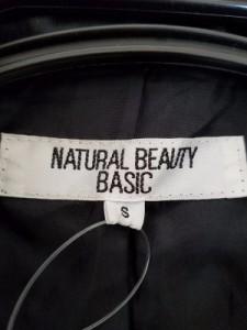 ナチュラルビューティー ベーシック NATURAL BEAUTY BASIC コート レディース 黒 冬物【中古】