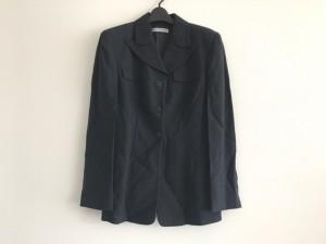 エンポリオアルマーニ EMPORIOARMANI ジャケット サイズ44 L レディース 美品 ダークネイビー 肩パッド【中古】