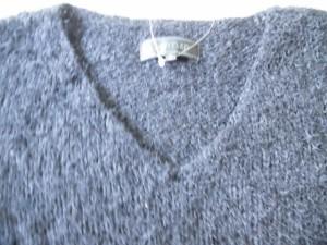 アンタイトル UNTITLED 長袖セーター サイズ2 M レディース 黒【中古】