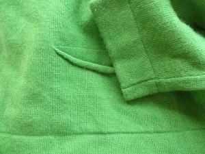 ジュリアガーネット JULIA GARNETT 長袖セーター サイズITA42 レディース ライトグリーン【中古】