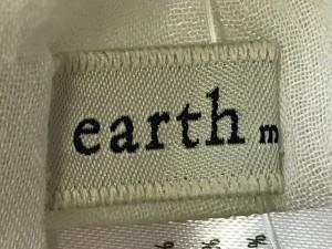 アースミュージック&エコロジー earth music&ecology ワンピース レディース 白【中古】