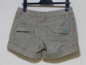 オニール O'NEIL ショートパンツ サイズ3 L レディース ブラウン×アイボリー【中古】