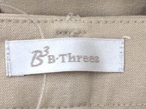 ビースリー B3 B-THREE パンツ レディース 美品 ベージュ【中古】