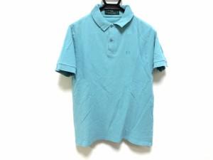 フレッドペリー FRED PERRY 半袖ポロシャツ サイズ40 M メンズ ライトブルー【中古】