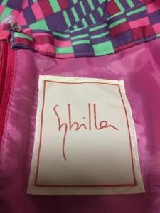 シビラ Sybilla スカート サイズM M レディース 美品 グリーン×ピンク×マルチ【中古】