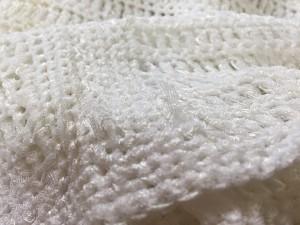 ボールジー BALLSEY 半袖セーター レディース 白 スパンコール【中古】