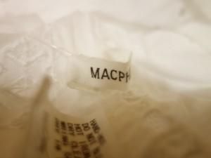 マカフィ MACPHEE チュニック レディース アイボリー レース【中古】
