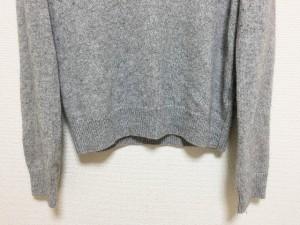 オペーク OPAQUE 長袖セーター サイズL レディース グレー Vネック【中古】