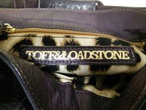 トフアンドロードストーン TOFF&LOADSTONE ショルダーバッグ パープル レザー×金属素材【中古】