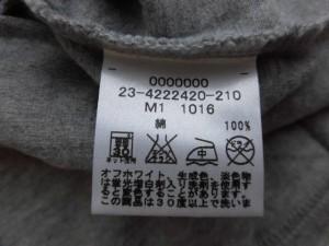 トミー TOMMY 半袖Tシャツ サイズS レディース グレー×レッド×マルチ【中古】