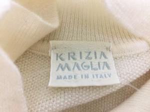 クリッツィアマグリア KRIZIA MAGLIA ノースリーブセーター サイズ44 L レディース 美品 アイボリー【中古】