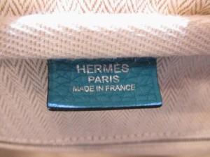 エルメス HERMES ショルダーバッグ 美品 ヴィクトリア2フールトゥ35 ターコイズ トリヨンクレマンス【中古】