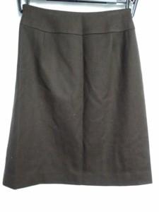 ボールジー BALLSEY スカート サイズ38 M レディース 美品 ダークブラウン【中古】