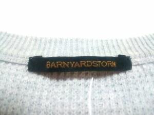 バーンヤードストーム BARNYARDSTORM 長袖セーター サイズ0 XS レディース ライトグレー【中古】