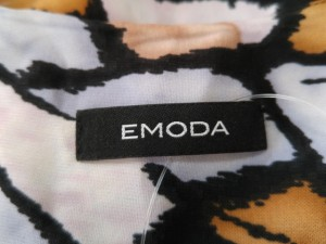 エモダ EMODA ノースリーブカットソー サイズS レディース 新品同様 ライトグレー×ライトブラウン×マルチ【中古】