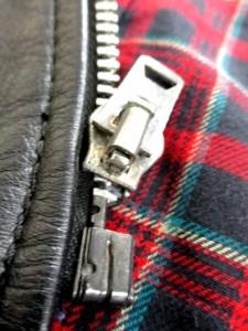 バンソン VANSON ライダースジャケット サイズ36 S メンズ 黒 レザー (質表示タグなし)【中古】