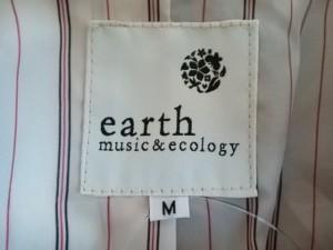 アースミュージック&エコロジー earth music&ecology コート サイズM レディース 美品 ボルドー ショート丈/冬物【中古】