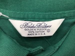 ブルックスブラザーズ BrooksBrothers 半袖ポロシャツ サイズL レディース グリーン【中古】