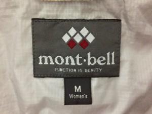 モンベル mont-bell ダウンコート サイズM レディース ベージュ 冬物 ナイロン【中古】