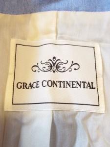 グレースコンチネンタル GRACE CONTINENTAL ジャケット レディース 美品 ライトブルー【中古】