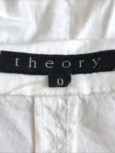 セオリー theory ジャケット レディース アイボリー【中古】
