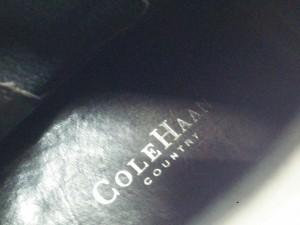 コールハーン COLE HAAN ショートブーツ 6 1/2B レディース ライトブラウン サイドゴア レザー【中古】