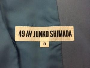 49アベニュージュンコシマダ 49av.Junko Shimada ジャケット サイズ9 M レディース ライトグレー【中古】