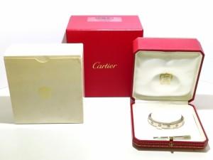 カルティエ Cartier バングル 美品 ラブブレス K18WG サイズ:16/旧型【中古】