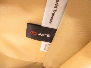 エース ACE ビジネスバッグ 黒 ナイロン【中古】