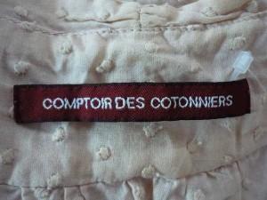 コントワーデコトニエ COMPTOIR DES COTONNIERS ワンピース サイズ36 S レディース ベージュ【中古】