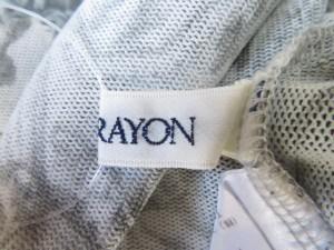ロイスクレヨン Lois CRAYON 半袖カットソー サイズM レディース 美品 グレー×ライトグレー【中古】