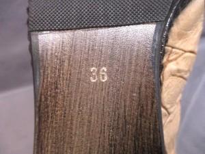 アルフレッドバニスター サンダル 36 レディース ベージュ×ブラウン×マルチ 型押し加工/花柄 レザー×プラスチック【中古】