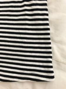 イエナ IENA ワンピース レディース 美品 白×黒 ボーダー/リボン【中古】