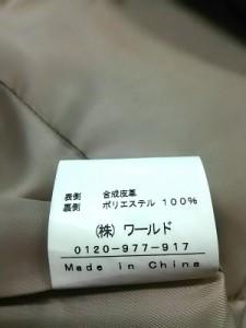 インディビ INDIVI ライダースジャケット サイズ40 M レディース アイボリー ジップアップ/春・秋物【中古】