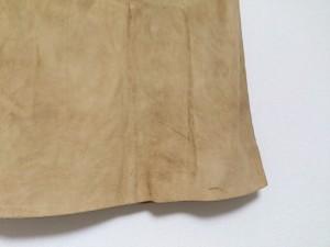 セリーヌ CELINE スカート サイズ38 M レディース ブラウン 山羊革【中古】