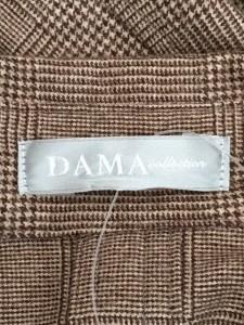 ダーマコレクション DAMAcollection ワンピース サイズS レディース ダークブラウン×ベージュ シャツワンピ/チェック柄【中古】