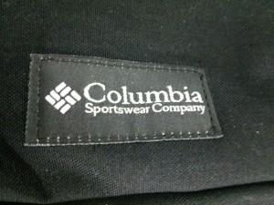 コロンビア columbia ショルダーバッグ 黒×ベージュ ナイロン【中古】