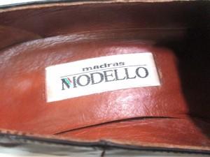 マドラス Madras MODELLO パンプス 21 1/2 レディース ダークブラウン エナメル(レザー)【中古】